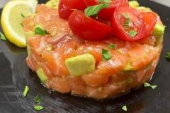 Tartare-di-salmone